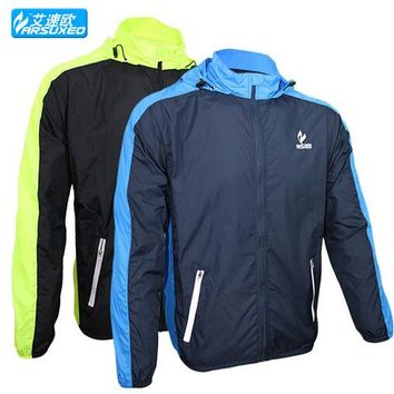 ARSUXEO Waterproof Cycling Jerseys Rain Coat Ropa Ciclismo Wind Coat/Windproof Windcoat Bicycle Clothing MTB Bike Cycle Raincoat