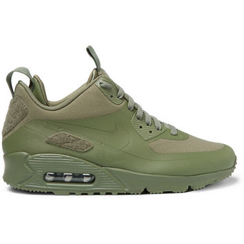 Nike - TZ Air Max 90 Canvas and Leather from MR PORTER  9ebe48625d