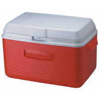 Rubbermaid FG2A2002MODRD Victory Ice Chest/Cooler, 34-Quart