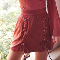 somedays lovin - ease my mind skirt - spice