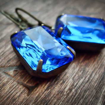 studs large earrings bario sapphire mens web slice neal
