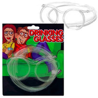 Straw Drinking Glasses