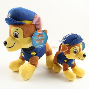 New 2017 6 style for Pawed Patrolling Dog Anime Kids Toys Puppy Toy Action Figure Plush Doll Model Stuffed and Plush Animals Toy