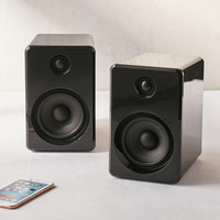 LE-43 Wireless Bookshelf Speakers Set - Black | Urban Outfitters