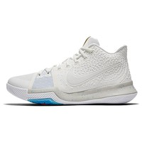 NIKE Original New Arrival Mens ZOOM Kyrie 3 EP Summer Pack Basketball Shoes Light Street All Season For Men