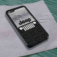 Steampunk Classic Jeep Wrangler logo For - iPhone 4 4S iPhone 5 5S 5C and Samsung Galaxy S3 S4 S5 Case