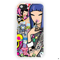 Tokidoki Blue Hair Iphone Case For iPhone 5 / 5S / 5C Case