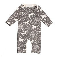 Grey Unicorn - Organic Jumpsuit by Winter Water Factory