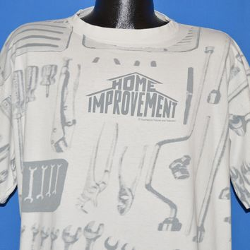 90s Home Improvement All Over Tool Print t-shirt Extra Large