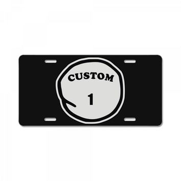 personalized custom License Plate