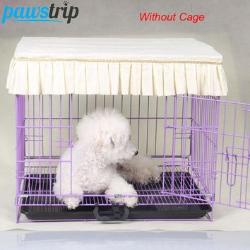Ruffles Dog Crates Cover Dustproof Cage Cover Without Cage S-XL