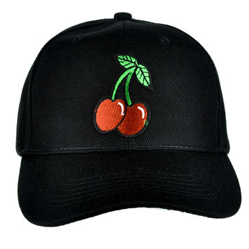 Sexy Cherry Hat Baseball Cap Rockabilly Tattoo Clothing