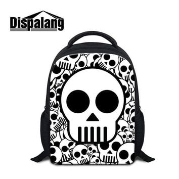 Cool Backpack school Cool School Backpacks for Kids Children Skull Printed Schoolbags Book Bags for Boys Girly Small Back Pack Patterns Stylish Bags AT_52_3