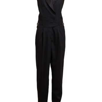 Jason Wu Virgin Wool Tuxedo Jumpsuit