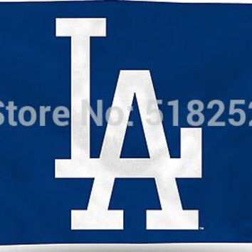 MLB Los Angeles Dodgers with modified  Flag 3x5 FT 150X90CM