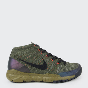 Flyknit Trainer Chukka Sneakerboot - sequoia/black