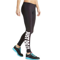 S-XL 19 Colors Women's Workout Leggings Plus Size Letters Print Leggings Slim Sexy Adventure Time Skinny Leggings For Women