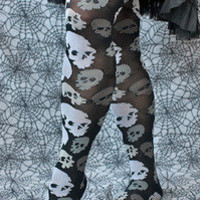 Socks by Sock Dreams » Skulls Over the Knee