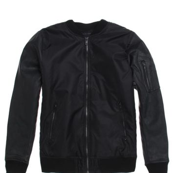 Modern Amusement Mixed Bomber Jacket - Mens Jacket