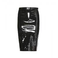 stouls - gilda patent-leather pencil skirt