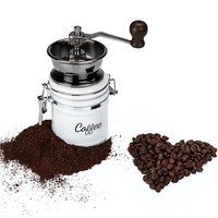 Country Cottage™ Ceramic Coffee Grinder by Twine