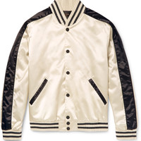 Calvin Klein Collection - Rankin Satin Bomber Jacket