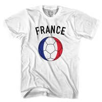 France Soccer Ball T-shirt