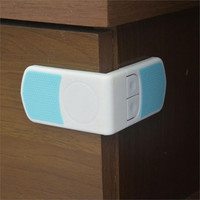 Safety Locks for Cabinet Drawer Cupboard Refrigerator by Baby in Motion