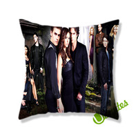 The Vampire Diaries Tv Series Square Pillow Cover