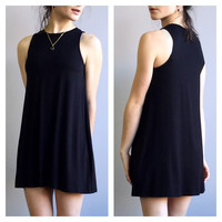 An Everyday Sundress in Black