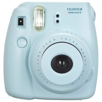 Fujifilm - instax mini 8 Instant Film Camera - Blue