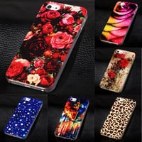 2016 New Phone Cover for Apple iPhone5 5s Luxury Painted Case For iphone 5 5s Hard Cell Phone Case for iPhone 5s 5g