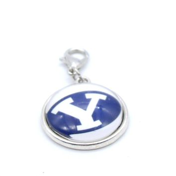 Pendant Accessories NCAA BYU Cougars Charms Accessories for Bracelet Necklace for Women Men Basketball Fans Paty Fashion 2017