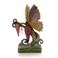 Jim Shore Butterfly Kisses Easter & Spring Figurine