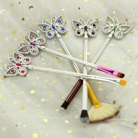 Crystal Butterfly Makeup Brush Set