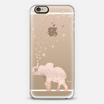 HAPPY ELEPHANT ROSÈ by Monika Strigel iPhone 6 case by Monika Strigel | Casetify