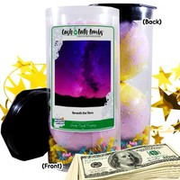 Beneath The Stars Cash Bath Bombs Tube