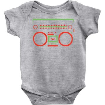 a tribe called quest   speaker hip hop the cutting edge Baby Onesuit