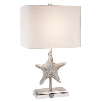 Bimini Table Lamp, Silver, Table Lamps