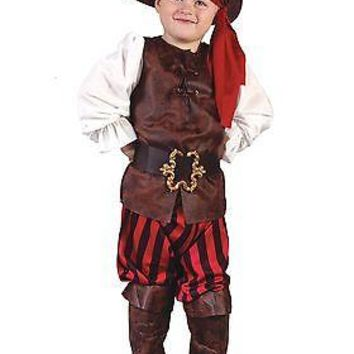 Caribbean Pirate Toddler Costume