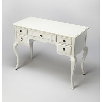 Butler Sadie Cottage White Writing Desk