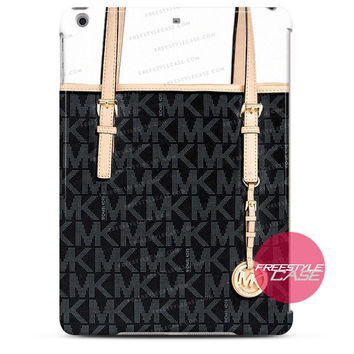 Michael Kors MK Bag Black Gold iPad Case 2, 3, 4, Air, Mini Cover