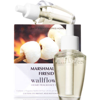Marshmallow Fireside Wallflowers 2-Pack Refills | Bath And Body Works