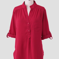 Crimson Rose Blouse