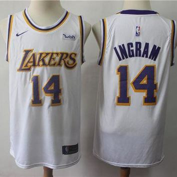 PEAP 2019 LA Lakers 14 Brandon Ingram Swingman Jersey