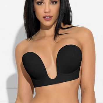 Andy Sticky Bra Black
