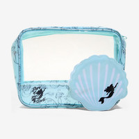 Disney The Little Mermaid Ariel Shell Makeup Bag Set