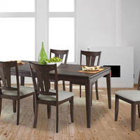 Cameron 7 pc. Brown Cherry Dining Set