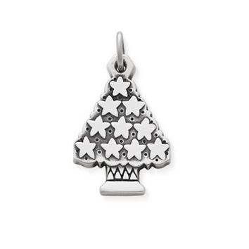 Christmas Tree with Stars Charm | James Avery