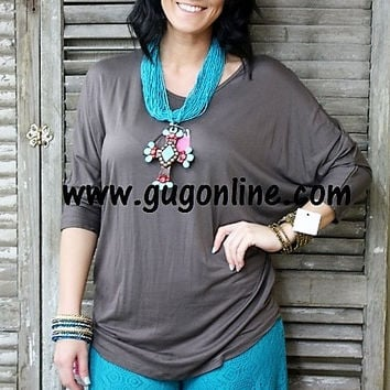 Piko Tunic Top in Mocha